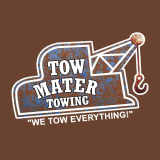 A Tow Mater Towing