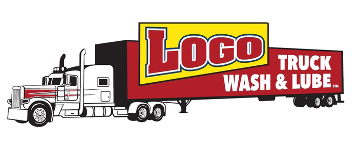 Logo Truck Wash & Lube